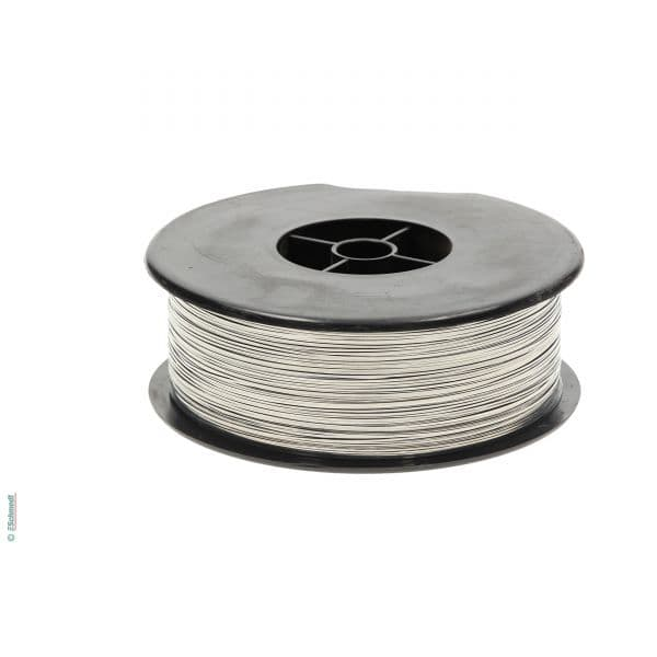 Steel stitching wire, flat, tin-plated (limited) | Stitching wire ...